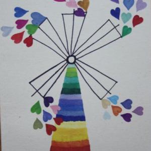 Carnet de însemnări Adierea iubirii, format mediu