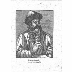 Amintire - Johannes Gutenberg