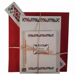 Set cadou cu motive tradiționale din zona Mehedinţi
