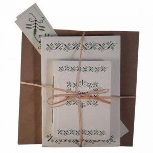 Set cadou cu motive tradiționale din zona Romanaţi