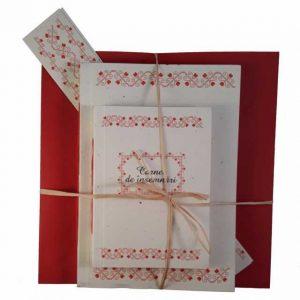 Set cadou cu motive tradiționale din zona Teleorman (model 1)