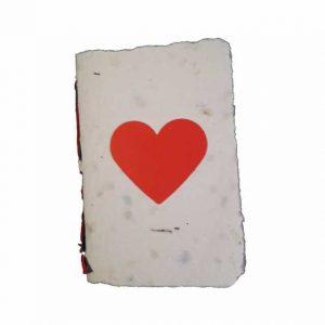 Carnet din hârtie de mână