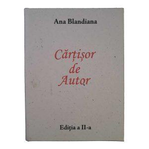 Cărțișor de Autor - Ana Blandiana (ediția a II-a, in forma de carte)