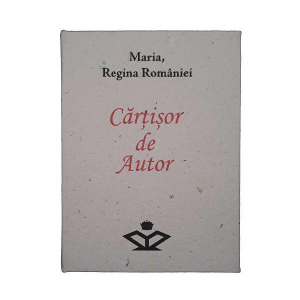 Cartisor de Autor Maria cutie coperta 1200px